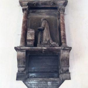 The Mason wall monument